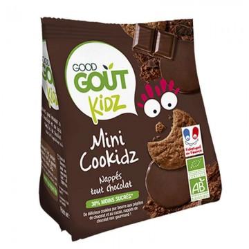 Cookidz nappés chocolat BIO...