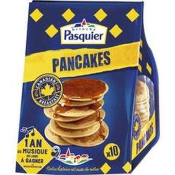 Pancakes nature, Pasquier...