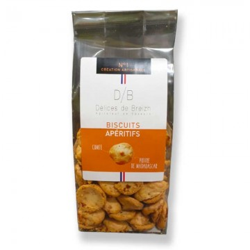 Biscuits apéritifs comté et...